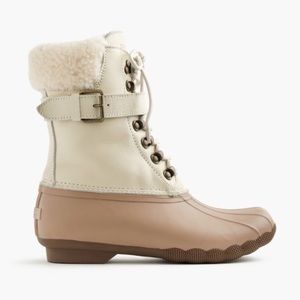 Sperry x J. Crew | Shearwater Buckle Boots